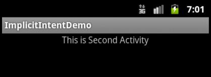 Second Activity