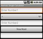 Simple Calculator in Action