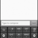 Opening SMS Compose Screen from an Android Application