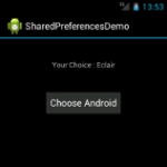 Shared Preferences Demo