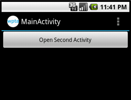 MainActivity Screen