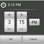 Time Picker Dialog