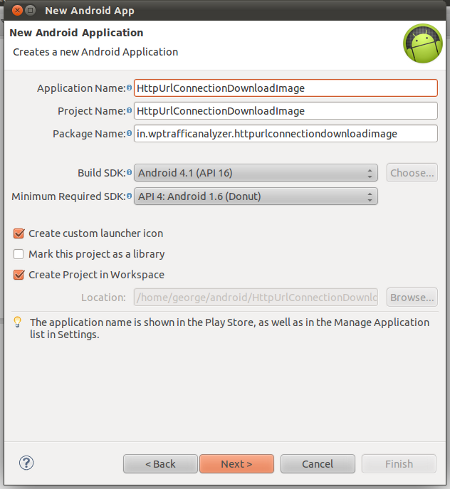 Android Http Access with HttpUrlConnection to download image