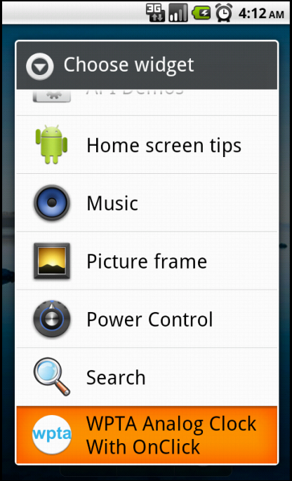 how to add apps to home screen on android box