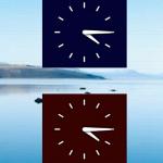 The Analog Clock App Widget in Action