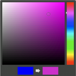 Color Picker Dialog in Action