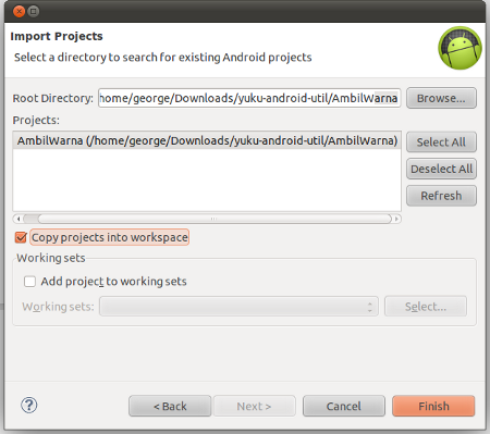 Select AmbilWarna folder from the downloaded repository