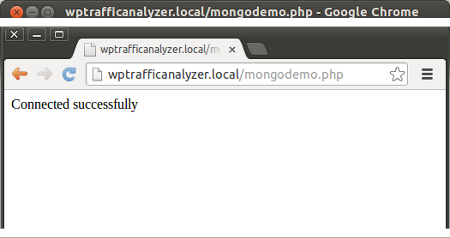 Connecting to MongoDB server using MongoClient from PHP