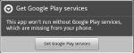 Checking the availability of Google Play Services in Android