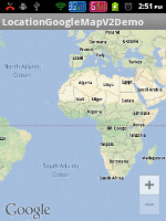 Google Map Android API V2 in Action