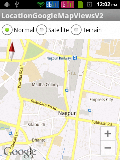 Google Map Android API V2 in Normal View