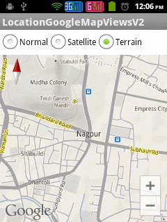 Google Map Android API V2 - Satellite View