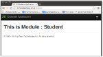 Creating Module, Controller, Actions in Zend Framework2 Application