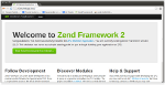 Creating a Zend Framework 2 Web Application