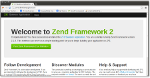 Zend Framework2 Skeleton Application