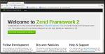 Zend Framework2 Skeleton Application