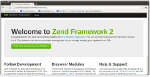 Zend Framework 2 Application