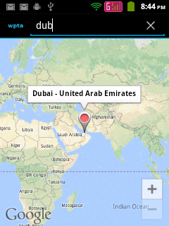 Showing result in Google Maps Android API V2